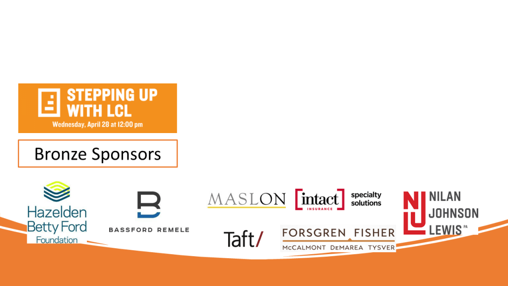 Stepping Up for Well-Being Bronze Sponsors